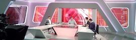 Vitelsa proyecta e integra los videowall del nuevo estudio de informativos de Televisión de Galicia