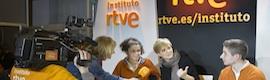 El Instituto RTVE participa en AULA con su plan formativo y la experiencia de los profesionales en sus talleres de radio y televisión