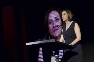 Belén Almonacid en los Premios Panorama 2014