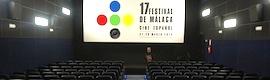El Festival de Málaga, con la tecnología de proyección digital de Christie Solaria One