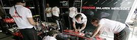 Kenwood intercomunica al equipo McLaren Mercedes en la Fórmula 1
