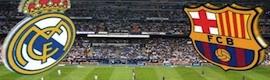 Mediapro producirá el Madrid-Barça en 4K para su distribución mundial