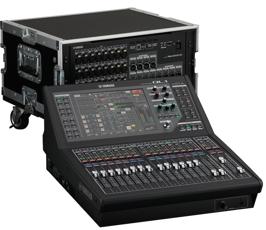 Yamaha launches at prolight sound their new digital for Yamaha sound console