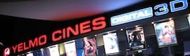 Yelmo Cines vuelve a confiar en Christie para su nuevo complejo en Tarragona