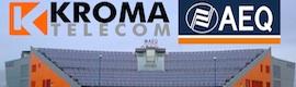 AEQ anuncia en Las Vegas la fusión por absorción de Kroma Telecom