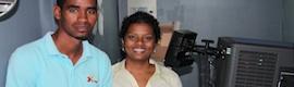 Christie instala el primer proyector de cine digital de Cabo Verde