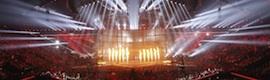 Eurovisión 2014: todo un despliegue en luz, proyección, sonido y pirotecnia