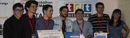 MultiVee recibe el premio al mejor proyecto del Hackathon CCMA