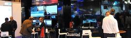 Soluciones Quantel para toda la cadena de producción desde informativos y deportes a acabado