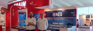 Las últimas novedades de AEQ y Kroma, en Broadcast Asia 2014