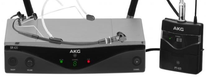 Nuevo sistema inalámbrico AKG WMS420, asequible y fácil de manejar