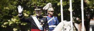 Televisiones de todo el mundo cubren la proclamación de Felipe VI