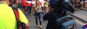 Más de ochenta broadcasters utilizan LiveU en el Mundial de Brasil