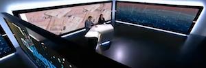 RTL Netherlands estrena en sus informativos un efectista estudio con wall virtual
