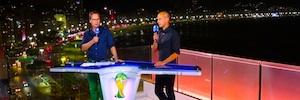 Las alemanas ARD y ZDF utilizan Lawo V Link4 para sus emisiones en directo desde Río de Janeiro