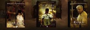 Mediapro adquiere los derechos de la trilogía 'Africanus' de Santiago Posteguillo para su adaptación audiovisual