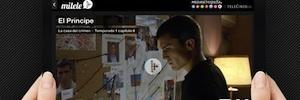 Mitele, la plataforma multimedia de contenidos online de Mediaset España, alcanza los dos millones de descargas