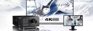 NEC Display amplía su gama UHD 4K con un proyector láser y dos pantallas de gran formato