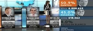 Orad proporcionó avanzadas soluciones de grafismo en las elecciones colombianas