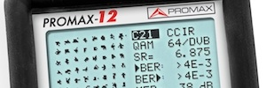 Promax-12, un nuevo medidor low cost para CATV