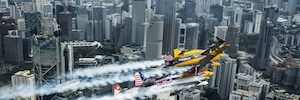 Riedel proporciona una red de AV, datos y comunicaciones a la Red Bull Air Race
