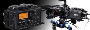 Tascam DR-60D: un grabador de cuatro pistas pensado para cámaras DSLR