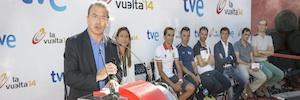 TVE emitirá cincuenta horas en directo de la 69ª Vuelta a España