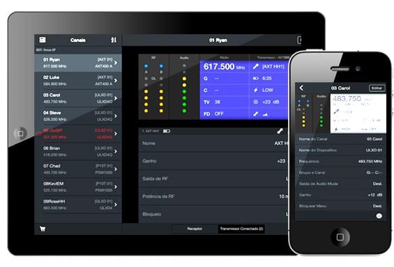 App ShurePlus Channels