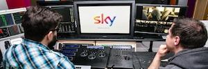Sky elige los monitores de Canon para sus sistemas de postproducción Mistika en 4K