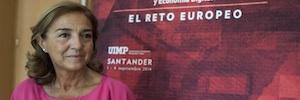 Carmen Vela, secretaria de estado de I+D+i desgrana en Santander el programa europeo Horizonte 20/20