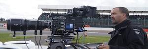 Dorna capturó en 4K el Gran Premio de Moto GP en Silverstone