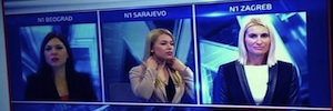 N1, filial de CNN en los Balcanes, implanta la producción de directos a través de IP