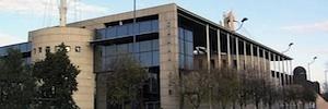 Vitelsa lleva a cabo la integración del plató principal del Centro de Producción de Canal Sur en Sevilla