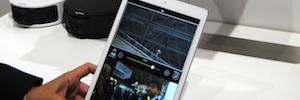 Control de cámara inteligente a distancia desde una tablet