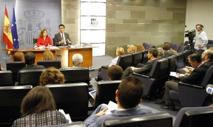 Consejo de Ministros 19/09/14 (Foto: Pool Moncloa)