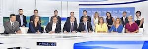 Televisión Española estrena nueva temporada de informativos