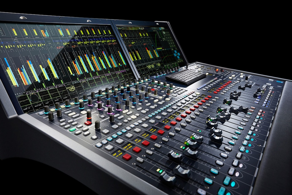 The New Console Mc 178 Debuts At The Aes Convention In Los
