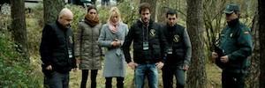 La televisión rusa graba la adaptación de 'Luna, el Misterio de Calenda'