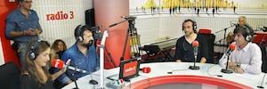 Radio 3 inaugura su nuevo estudio, 'Time line', creado por el artista SUSO33