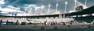 Riedel proporcionó los servicios de radio e intercom en el Campeonato Europeo de Atletismo