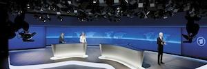 Todo bajo control con VSM en el impresionante plató de ARD 'Tagesschau'