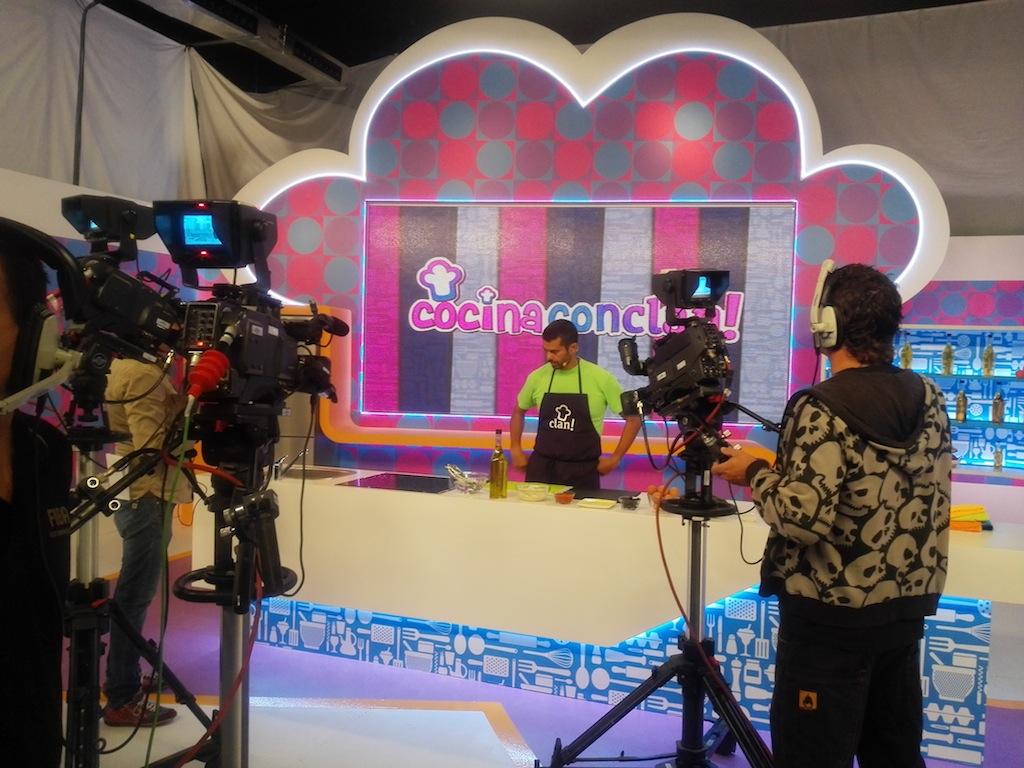 Tres60 presta servicios audiovisuales para la productora zzj - Cocina canal sur ...