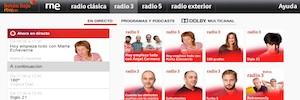 El nuevo Botón Rojo de RNE une las emisiones de radio e Internet en los televisores conectados