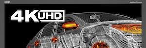 NEC MultiSync PA322UHD: imagen detallada y reproducción fiel del color en un monitor profesional