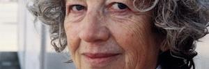 La documentalista alemana Ulrike Ottinger, en el Guggenheim de Bilbao