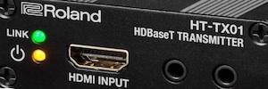 Roland presenta sus nuevos transmisores y receptores HDMI / HDBaseT