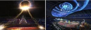 Los Juegos Olímpicos de la Juventud contaron con un gran despliegue de grafismo virtual con tecnología Ventuz