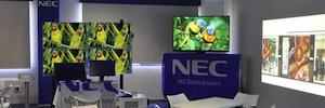 NEC inaugura su primera sala demo de España en la que exhibe todo un ecosistema de soluciones audiovisuales