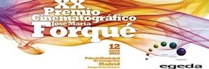 Anunciados los finalistas a los XX Premios Forqué