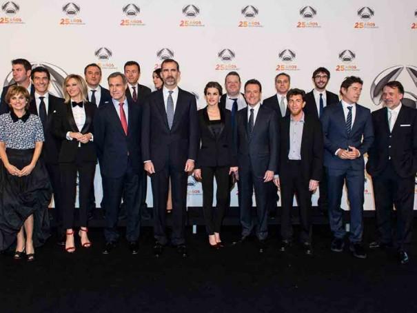 Fiesta aniversario 25 años de Antena 3